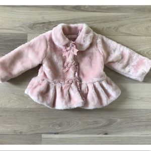 Other - PINK FAUX FUR JACKET